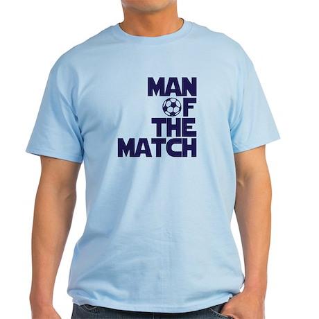 Man of the Match (Soccer) Light T-Shirt