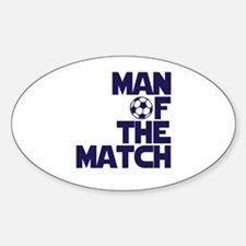 Man of the Match (Soccer) Decal
