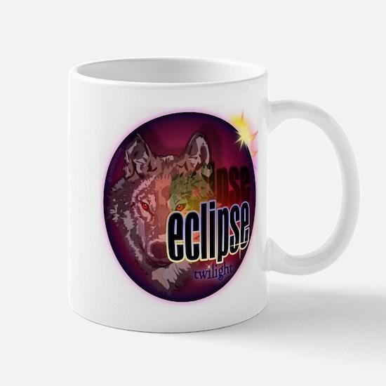 Eclipse Wolf Shadow by twibaby Mug