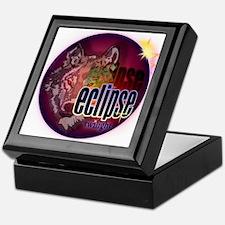 Eclipse Wolf Shadow by twibaby Keepsake Box