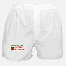 Little Present in December Boxer Shorts