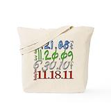 Twilight saga date Totes & Shopping Bags