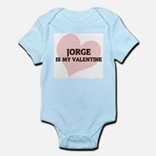 Jorge Is My Valentine Infant Creeper