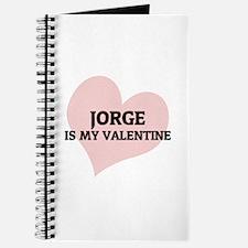 Jorge Is My Valentine Journal
