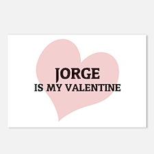 Jorge Is My Valentine Postcards (Package of 8)