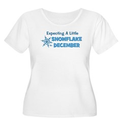 Little Snowflake December T-Shirt