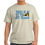 No Off Season Snowmobiling Light T-Shirt