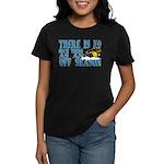 No Off Season Snowmobiling Women's Dark T-Shirt