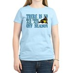 No Off Season Snowmobiling Women's Light T-Shirt