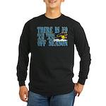 No Off Season Snowmobiling Long Sleeve Dark T-Shir