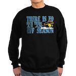 No Off Season Snowmobiling Sweatshirt (dark)