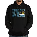 No Off Season Snowmobiling Hoodie (dark)