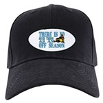 No Off Season Snowmobiling Black Cap