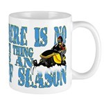 No Off Season Snowmobiling Mug
