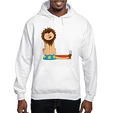 Animal Alphabet Lion Hoodie