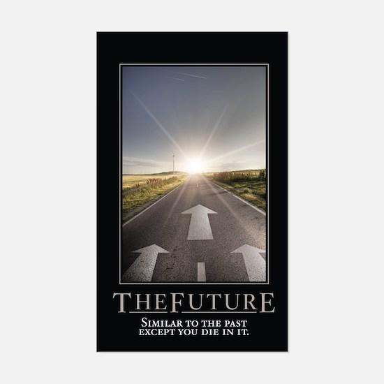The Future Sticker (Rectangle)