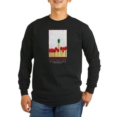 Initiative Long Sleeve Dark T-Shirt