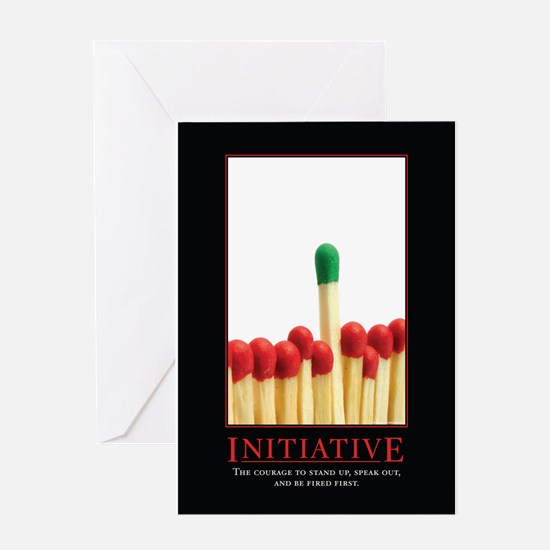Initiative Greeting Card