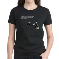 Appearing Busy Women's Dark T-Shirt