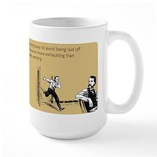 Appearing Busy Large Mug