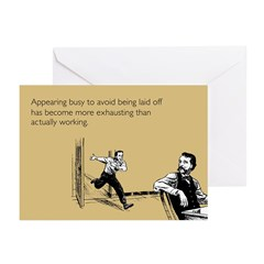 Appearing Busy Greeting Cards (Pk of 20)