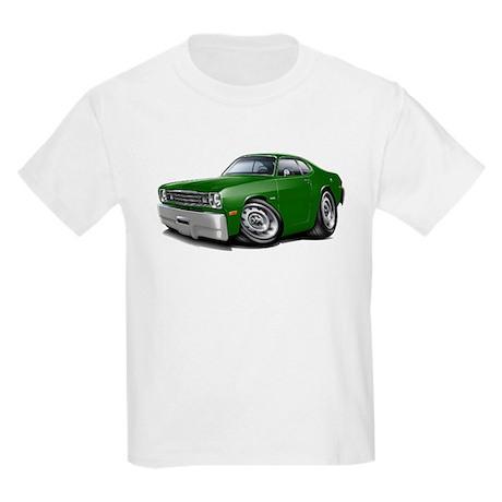 Duster Green Car Kids Light T-Shirt