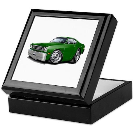 Duster Green Car Keepsake Box