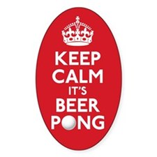 Keep Calm Beer Pong Decal