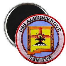 USS ALBUQUERQUE Magnet