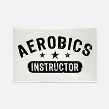 Aerobics Instructor Rectangle Magnet