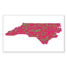 NC Cities Decal