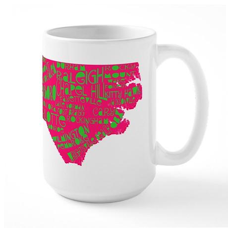 NC Cities Large Mug