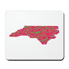 NC Cities Mousepad