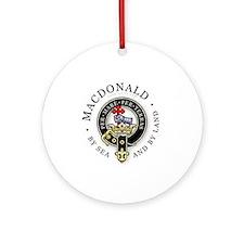 Clan MacDonald Ornament (Round)