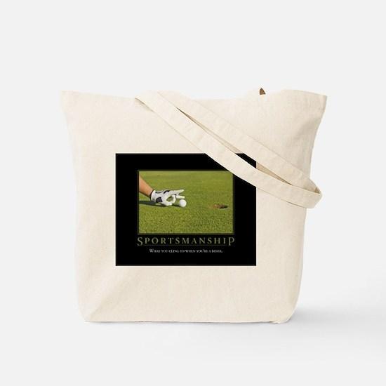 Sportsmanship Tote Bag