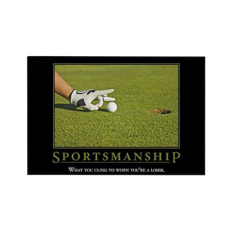 Sportsmanship Rectangle Magnet (10 pack)
