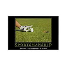 Sportsmanship Rectangle Magnet