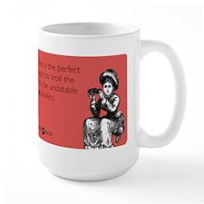 Undatable Alcoholics Large Mug