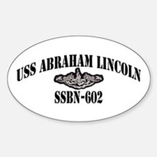 USS ABRAHAM LINCOLN Sticker (Oval)