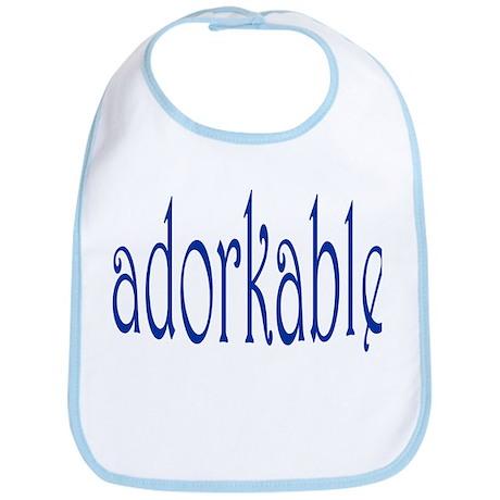 I'm adorkable! Bib