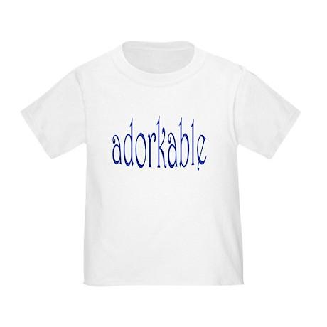 I'm adorkable! Toddler T-Shirt