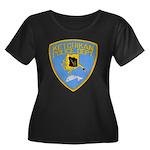 Ketchikan Police Women's Plus Size Scoop Neck Dark