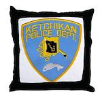 Ketchikan Police Throw Pillow