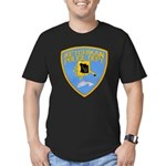 Ketchikan Police Men's Fitted T-Shirt (dark)