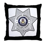 Phillips County Sheriff Throw Pillow
