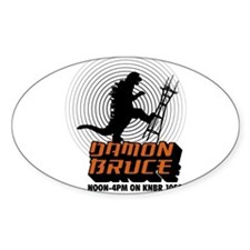 The Damon Bruce Show Decal