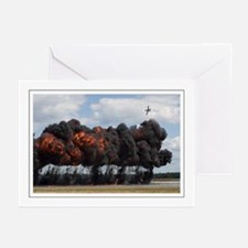 A10 Pyrotechnics Greeting Cards (Pk of 10)