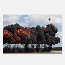 A10 Pyrotechnics Postcards (Package of 8)