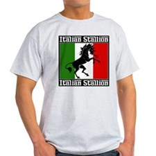 Classic Italian Stallion Light Color T-Shirt