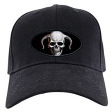 Horned Skull Baseball Cap